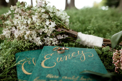 Jane Austen inspired vintage wedding jewelry