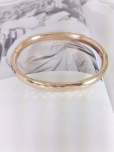 vintage gold filled bangle