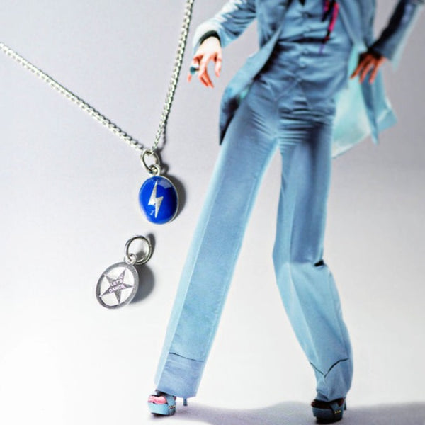 Bowie Let's Dance Charm in Custom Color Enamel