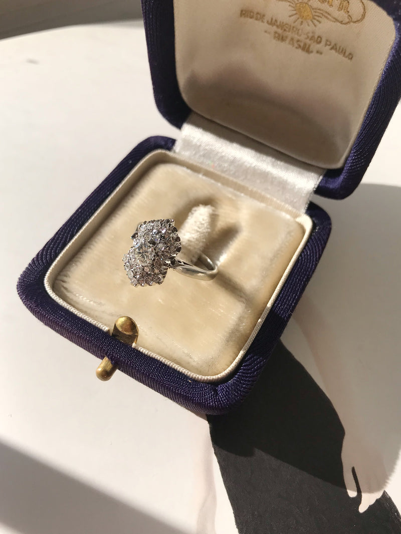 Princess Style Diamond Engagement Ring
