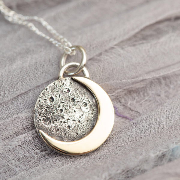 Crescent Moon Necklace - Smaller Version
