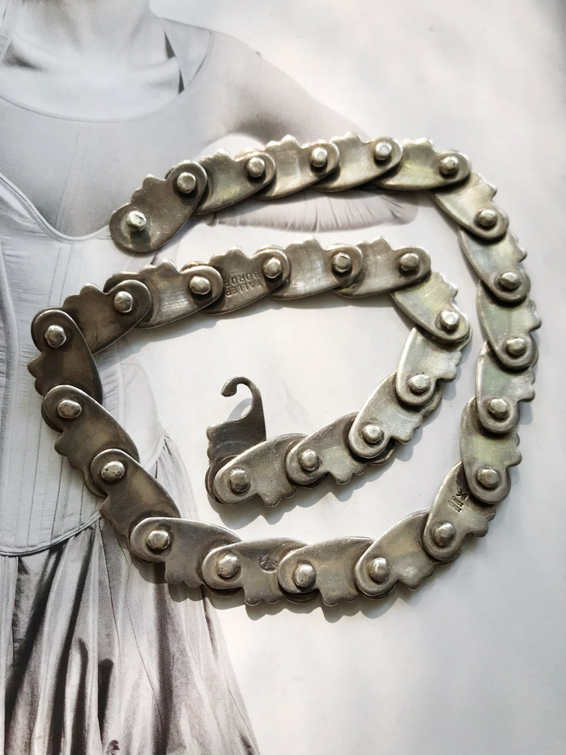 Hector Aguilar Mexican Silver Necklace