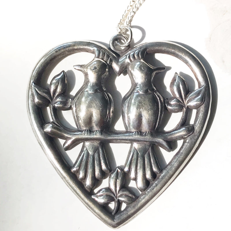 Lovebirds Statement Necklace