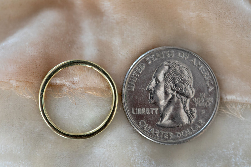 Pet Memorial Ring in Gold
