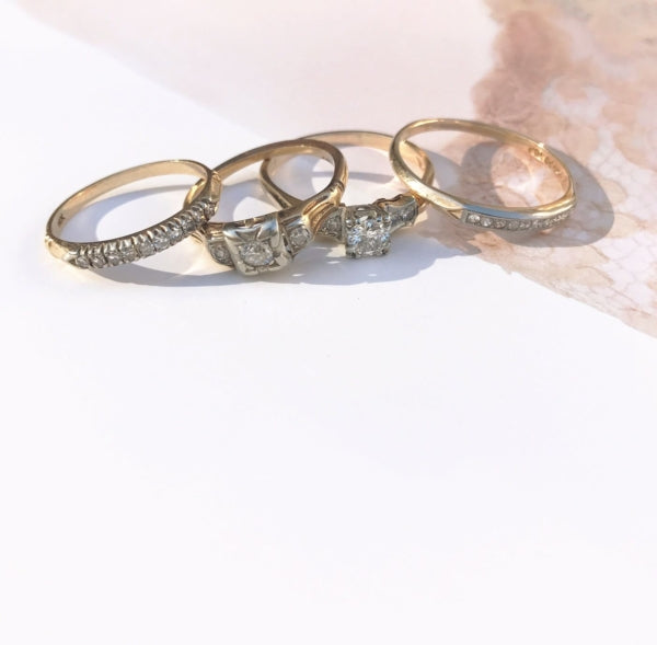5 Vintage Engagement Ring Ideas for the Alternative Bride