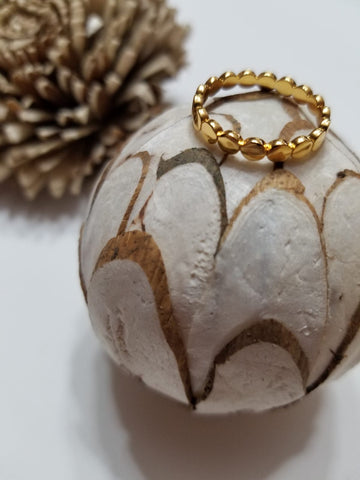 Sol Gold Vermeil Ring_The Silver Root Jewelry
