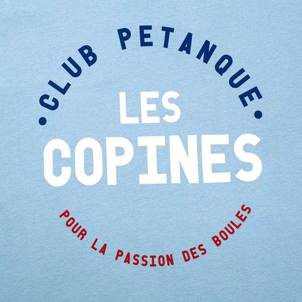 T-shirt Les Copines - Light Blue