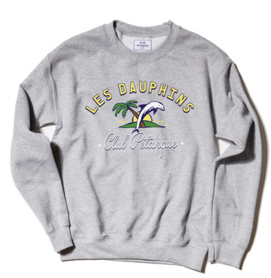 Sweat Les Dauphins - Heather Grey