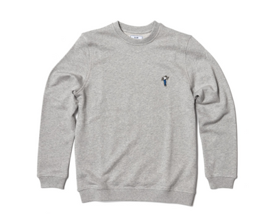 Sweat Pétancoeur - Heather Grey