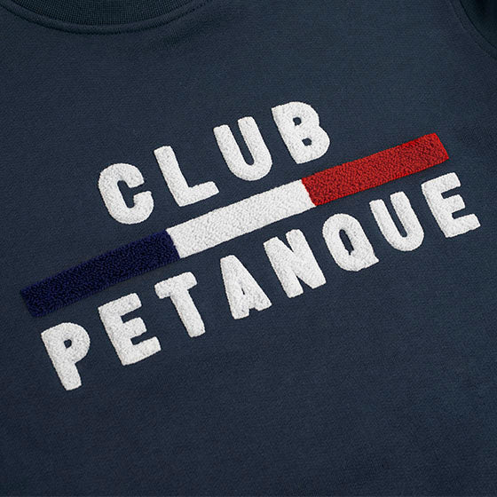 Sweat Club Pétanque - Sport Détente - Navy