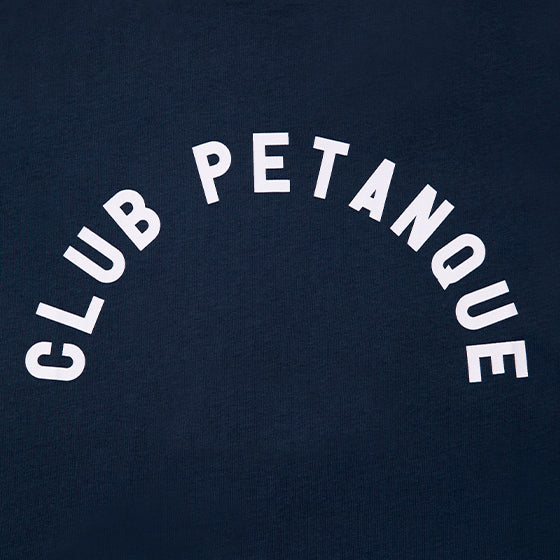 T-shirt Club Pétanque - Université -Navy