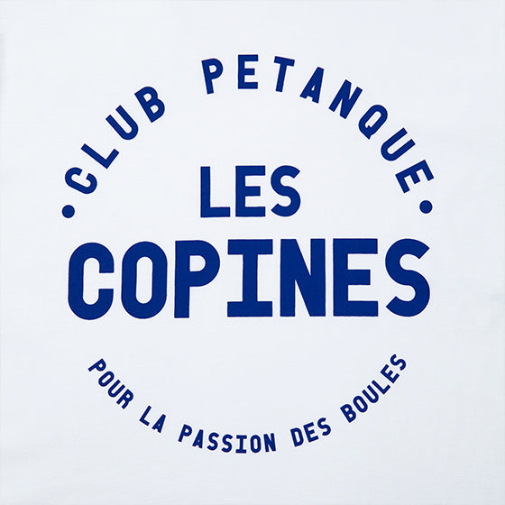 T-shirt Les Copines - Blanc