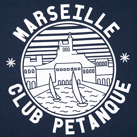 Sweat - Marseille Club - Bleu Marine