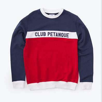 Sweat Le Francais - Tricolore