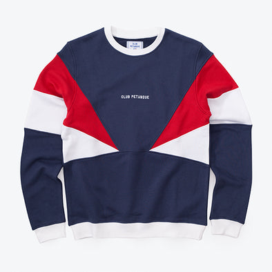 Sweat Maitre Nageur - Tricolore