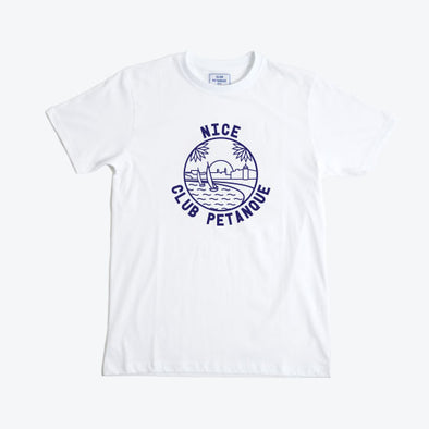 T-shirt Nice Club - White
