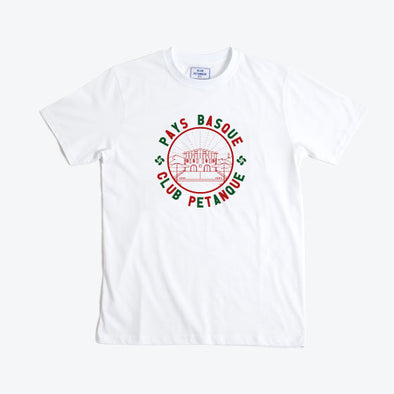 T-shirt Pays Basque Club - White