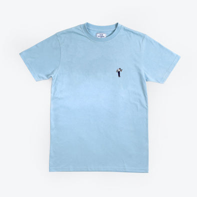 T-shirt Club Pétanque - Pétancoeur - Light Blue