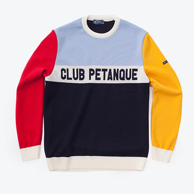 Pull Saint James + Club Pétanque - Multicolore