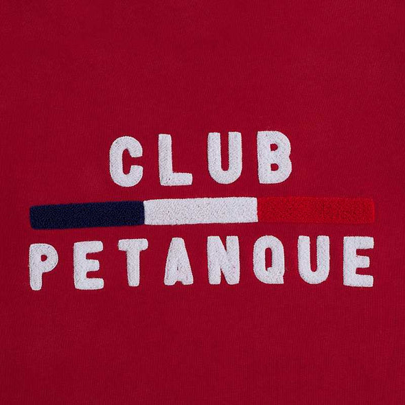 Sweat Club Pétanque - Sport détente - Rouge