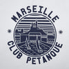 T-shirt Marseille Club - Blanc