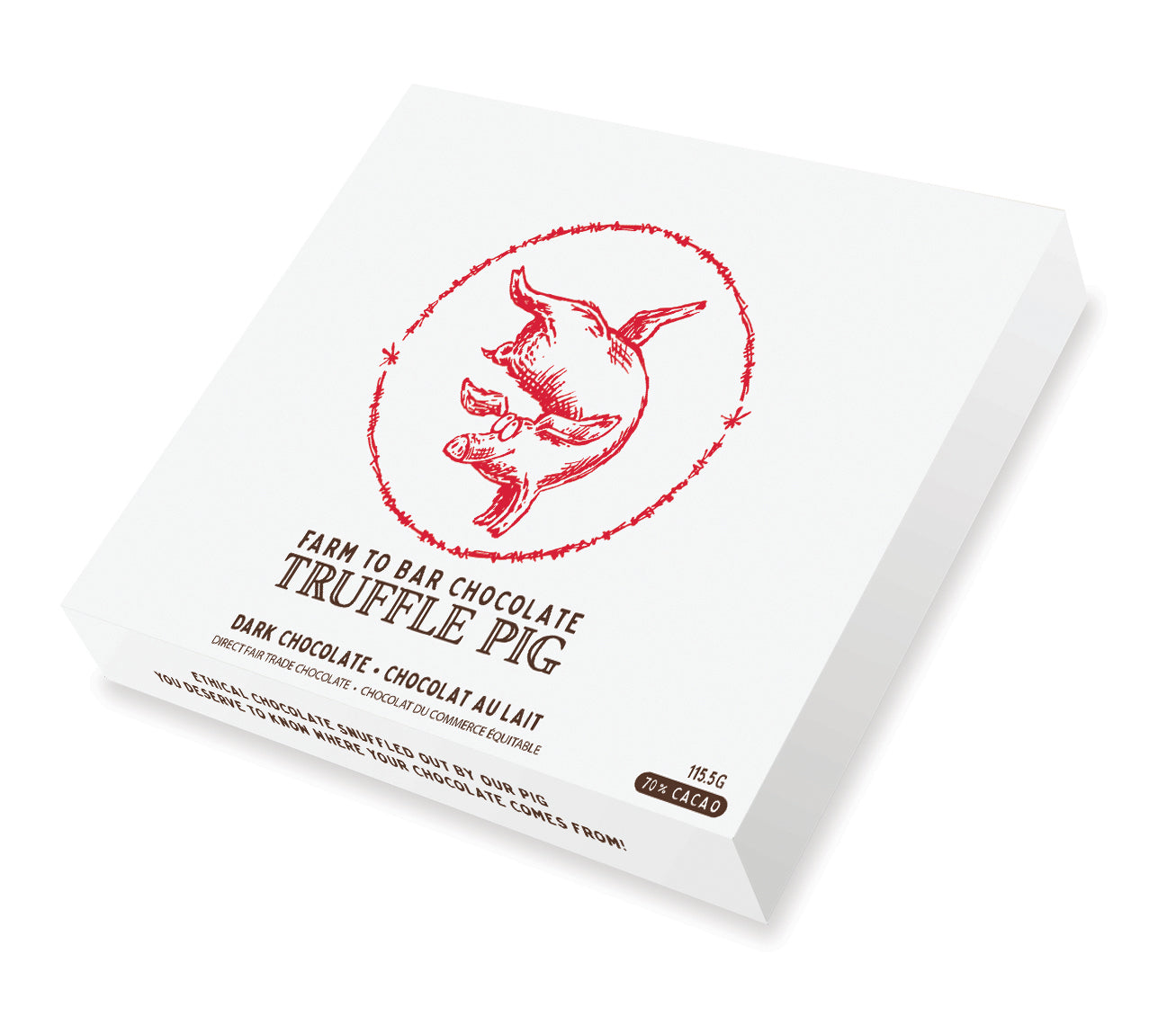 Dark Chocolate Truffle Piglets - Everyday Gift Box