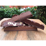 70% Cacao Dark Chocolate Bar with Peanut Butter