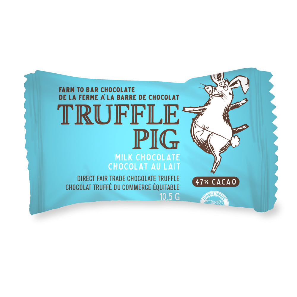 Milk Chocolate Truffle Piglets - Vancouver Gift Box