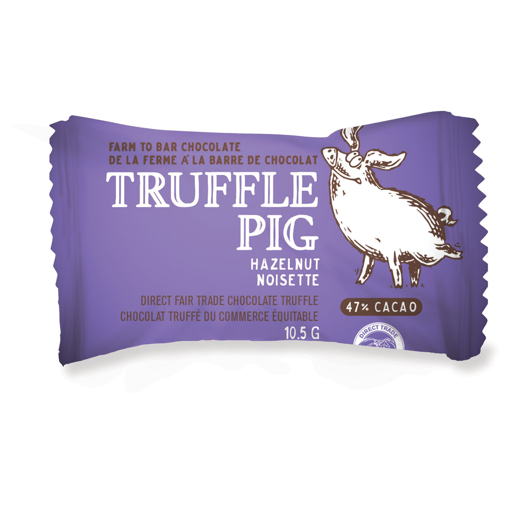 47% Cacao Milk Chocolate Piglets with Hazelnut Butter Piglet