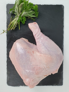 Halal Free Range Chicken Quarters With Skin (2pcs)