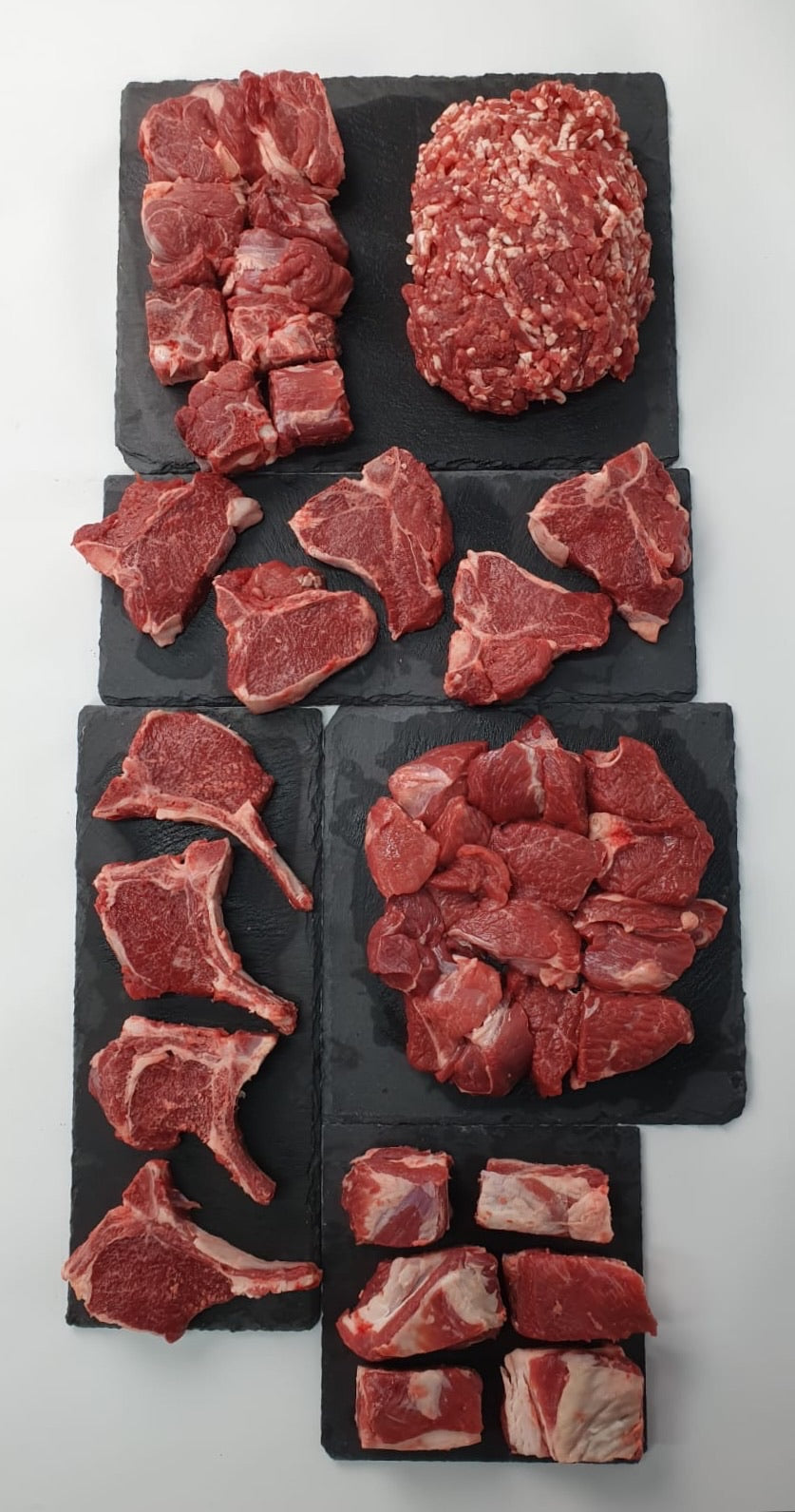 Halal Organic Lamb Half - Cut into Pieces (9-11kg gross)