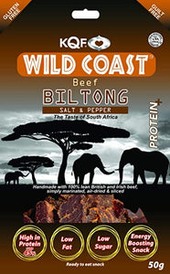 Halal Beef Biltong Salt and Pepper (50g)