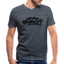 Load image into Gallery viewer, Love Thy Neighbor | Men's V-Neck T-Shirt | Agape Flashcards