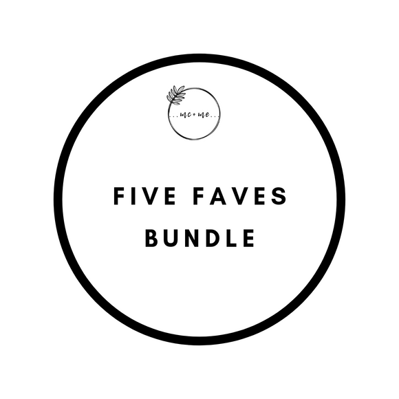Bundle & Save - Five Faves