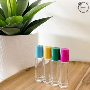 Essential Oil Rollers (Colour Pop) Set of 4