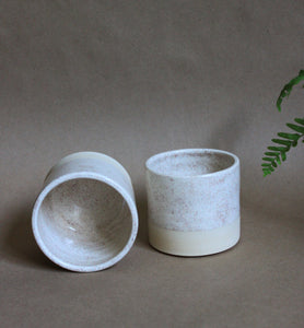 Pair of Oatmeal Tumblers