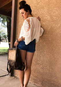 Luckenback Lace Top