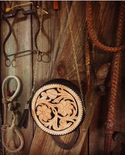 """Rawlings"" Round Tooled Clutch"