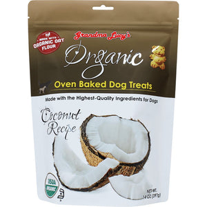Grandma Lucy's Organic Coconut Recipe Oven-Baked Dog Treats, 397g - Happy Hoomans