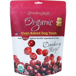 Grandma Lucy's Organic Cranberry Recipe Oven-Baked Dog Treats, 397g - Happy Hoomans
