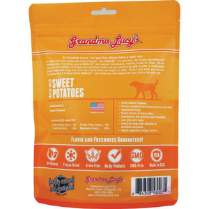 Grandma Lucy's Singles Sweet Potato Freeze-Dried Dog Treats, 2oz - Happy Hoomans