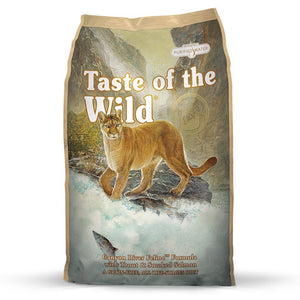 Taste Of The Wild Canyon River Recipe with Trout & Smoked Salmon Dry Cat Food (2 Sizes) - Happy Hoomans