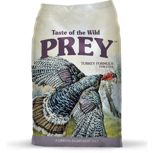 Taste Of The Wild PREY Turkey Limited Ingredient Formula Dry Cat Food (2 Sizes) - Happy Hoomans