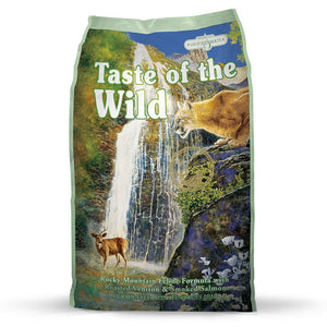 Taste Of The Wild Rocky Mountain Roasted Venison Recipe Dry Cat Food (2 Sizes) - Happy Hoomans