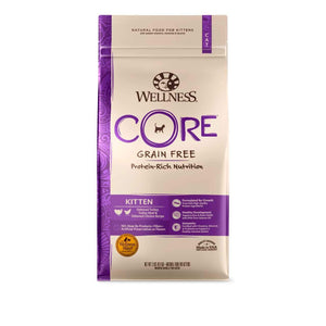 Wellness CORE Kitten Grain-Free Dry Cat Food (2 Sizes) - Happy Hoomans