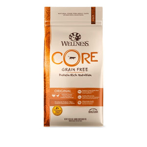 Wellness CORE Original Grain-Free Dry Cat Food (3 Sizes) - Happy Hoomans