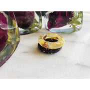 Flower Preservation Ring Magentaflowers
