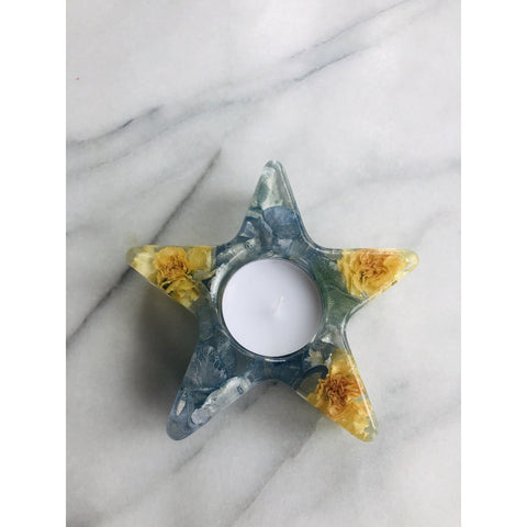 Tealight Candle Holders Magentaflowers 11CM Star