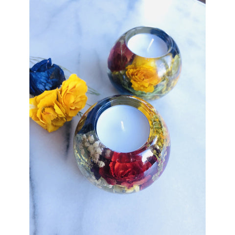 Tealight Candle Holders Magentaflowers
