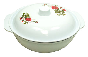 "10"" Salad Bowl with Cover - Dallas General Wholesale"